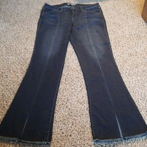 Wit and wisdom size 10 split boot cut jeans